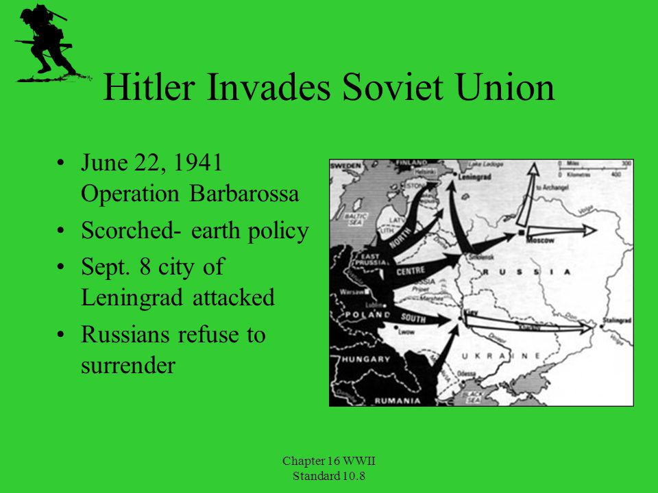 Hitler Invades Soviet Union