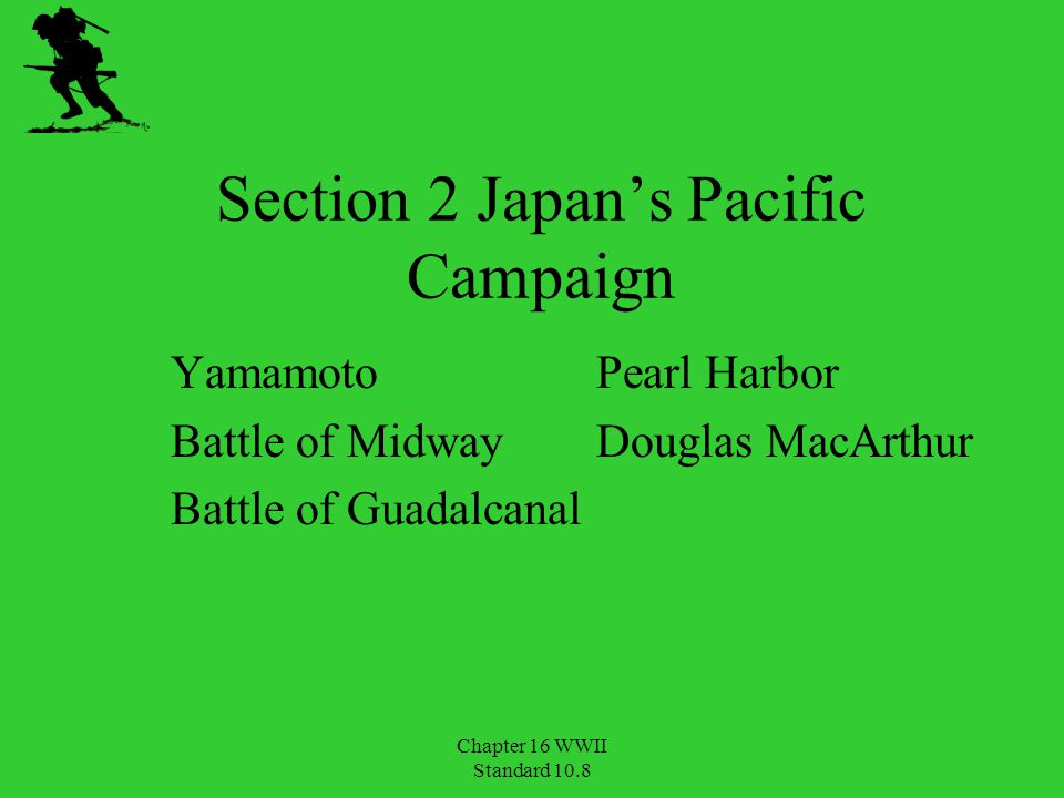 Section 2 Japan's Pacific Campaign