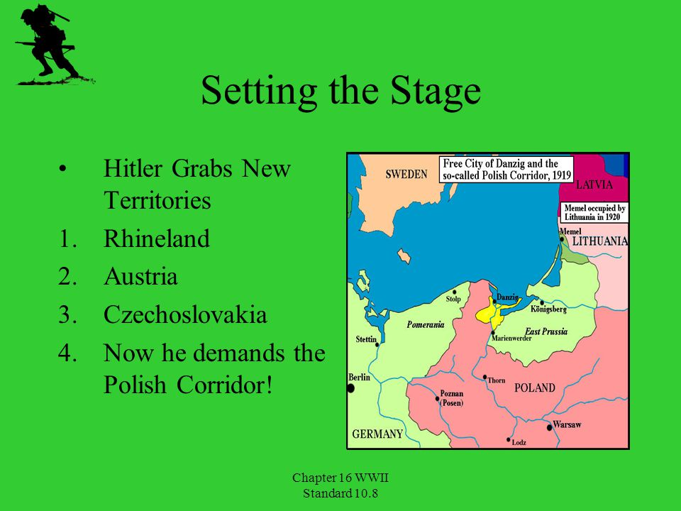 Setting the Stage Hitler Grabs New Territories Rhineland Austria