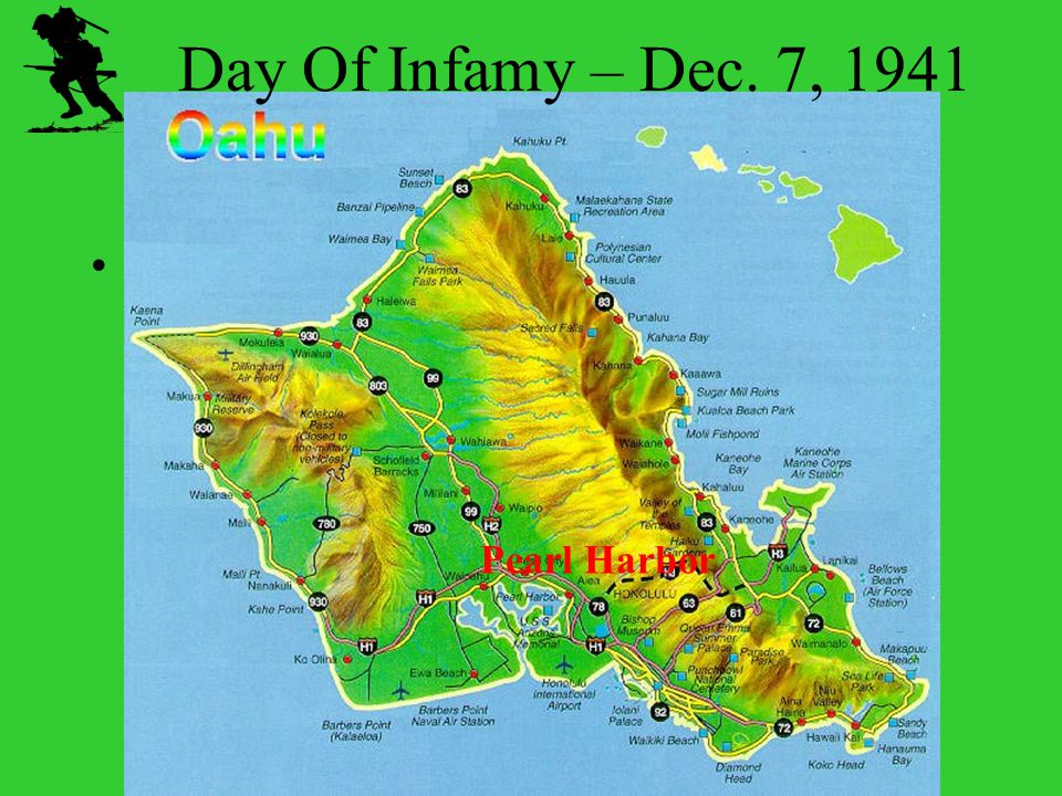 Day Of Infamy – Dec. 7, 1941 Pearl Harbor Chapter 16 WWII