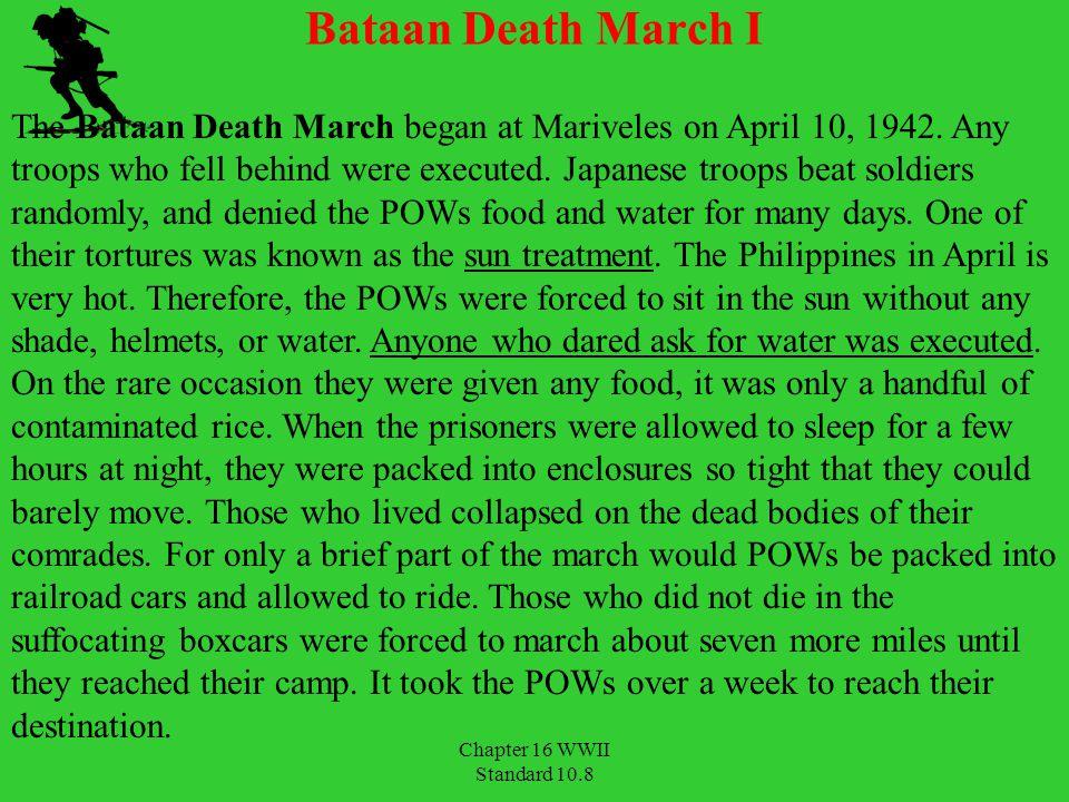 Bataan Death March I