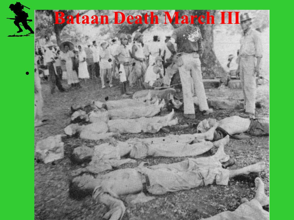 Bataan Death March III Chapter 16 WWII Standard 10.8