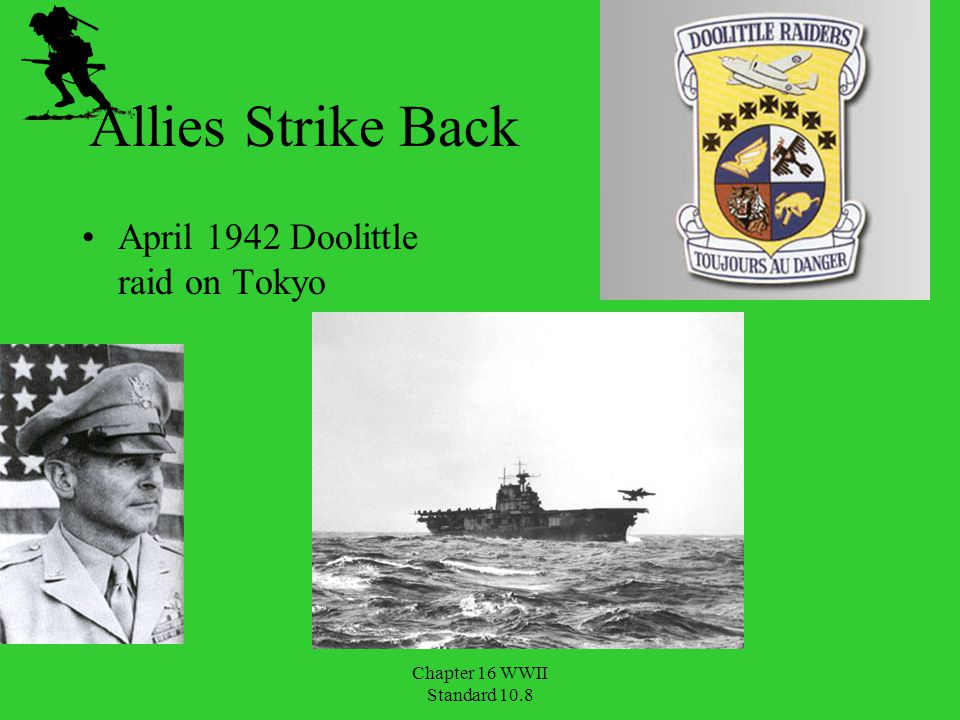 Allies Strike Back April 1942 Doolittle raid on Tokyo Chapter 16 WWII