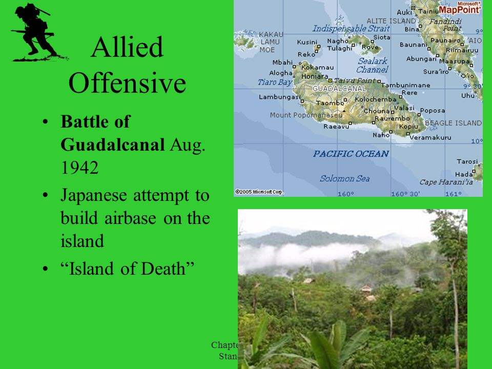 Allied Offensive Battle of Guadalcanal Aug. 1942