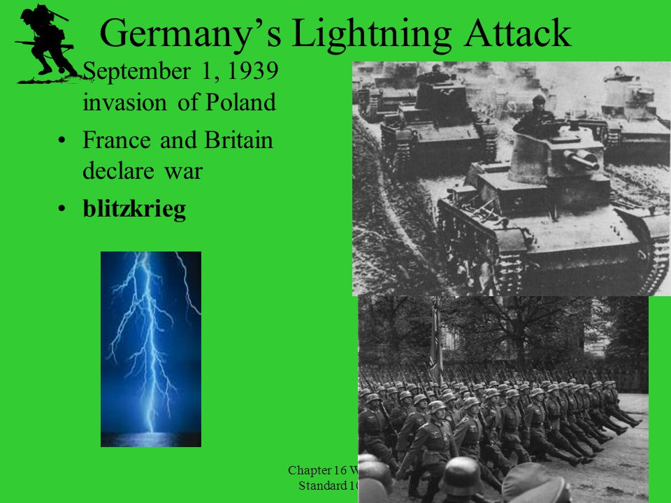Germany's Lightning Attack