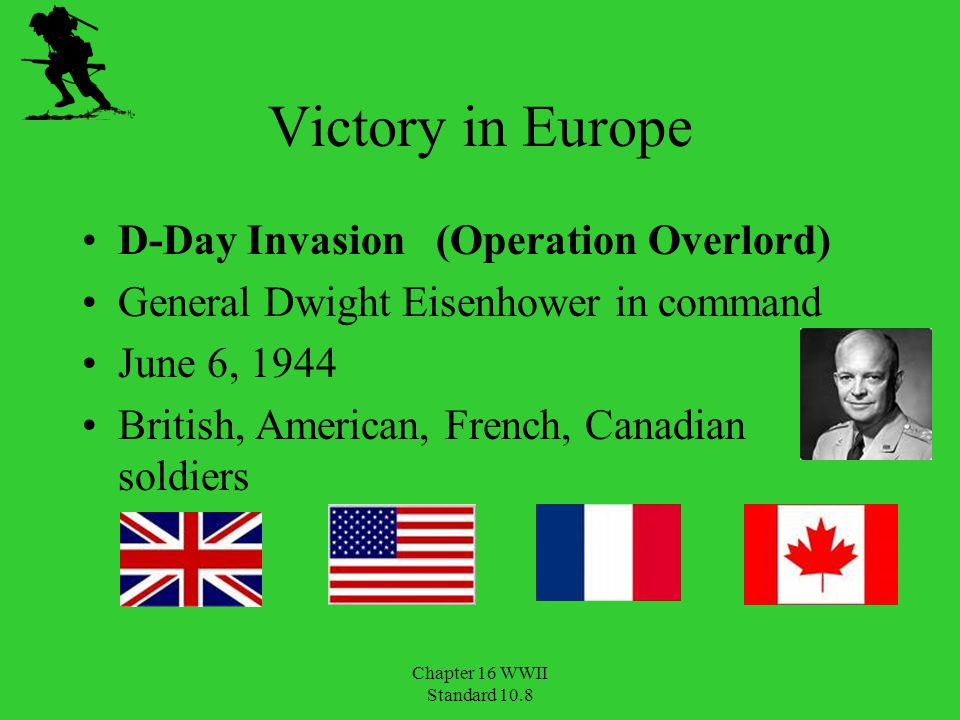 Victory in Europe D-Day Invasion (Operation Overlord)