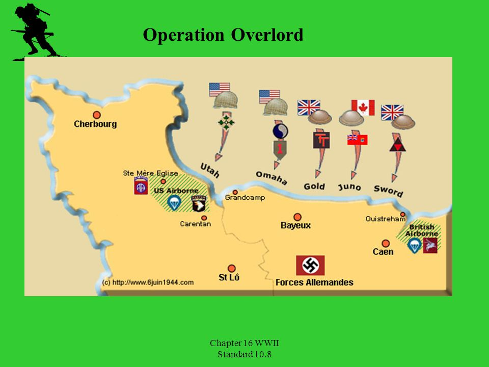 Operation Overlord Chapter 16 WWII Standard 10.8