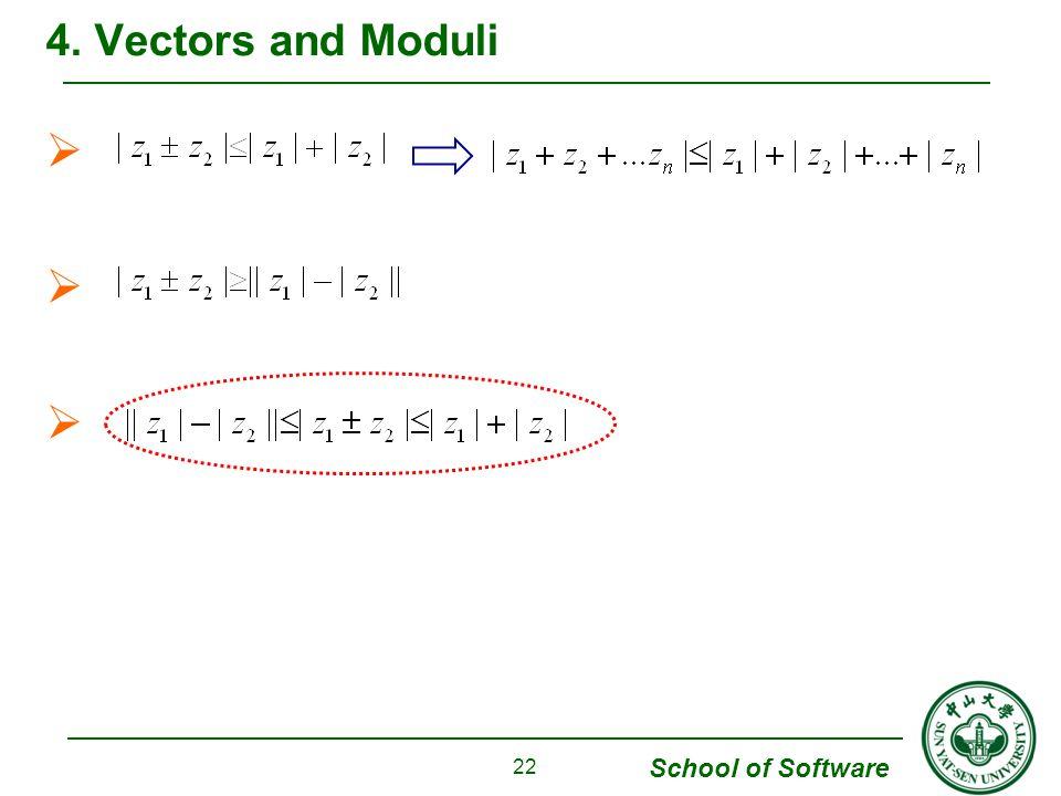 4. Vectors and Moduli