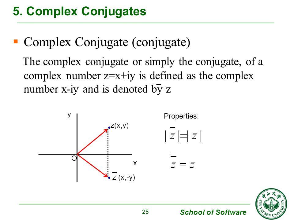 Complex Conjugate (conjugate)