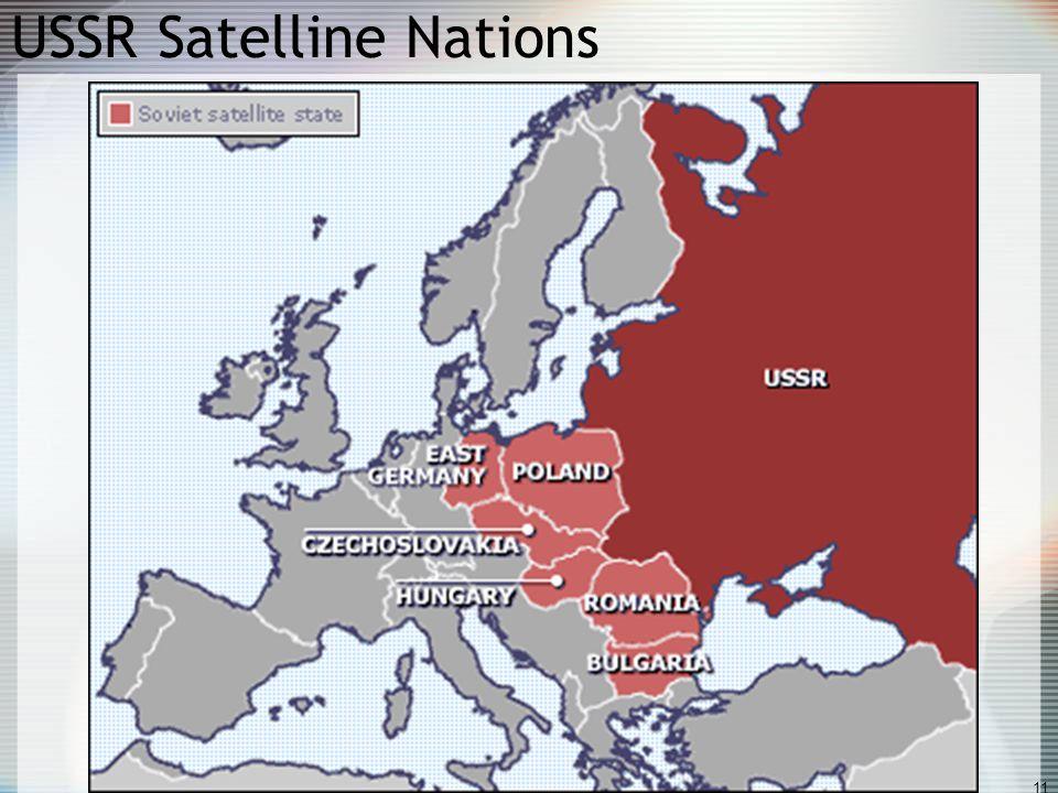 USSR Satelline Nations