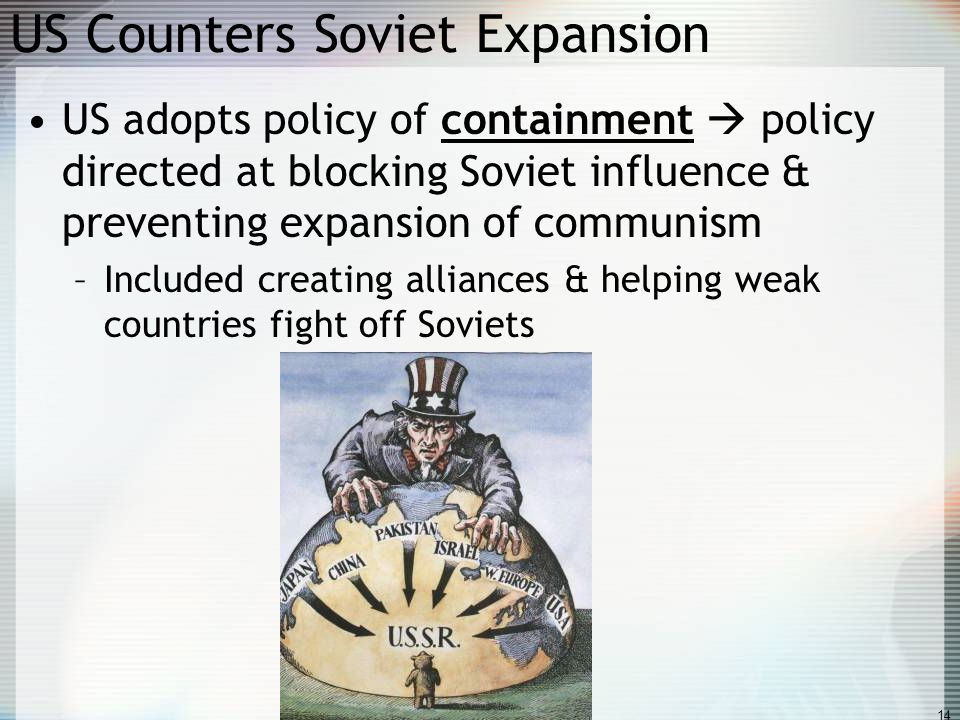 US Counters Soviet Expansion