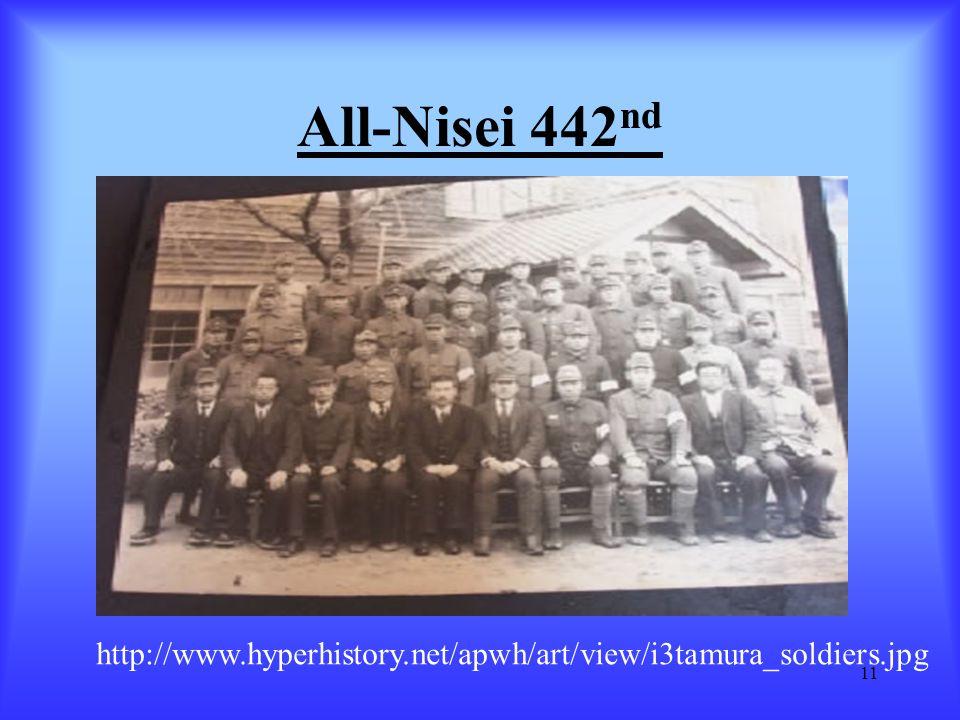 All-Nisei 442nd http://www.hyperhistory.net/apwh/art/view/i3tamura_soldiers.jpg