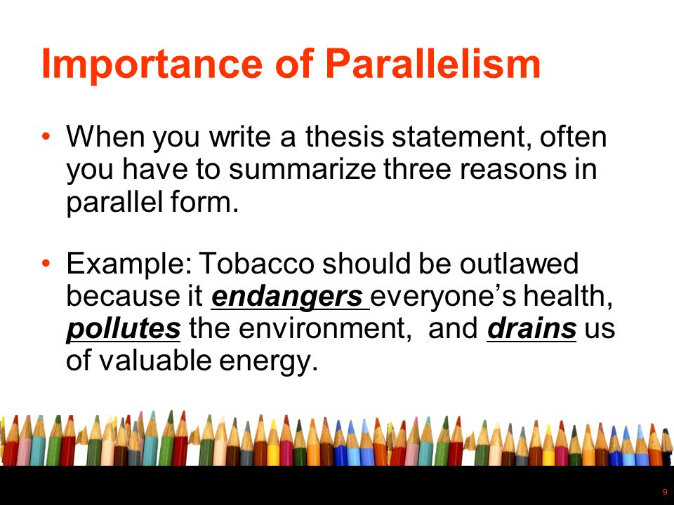 Importance of Parallelism
