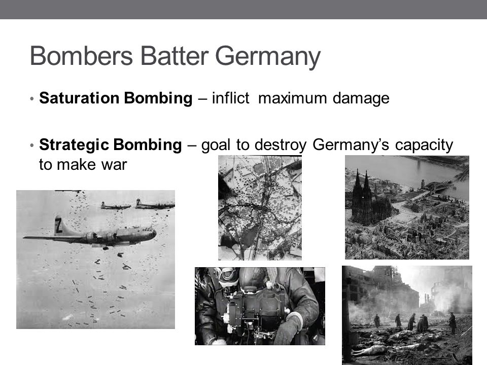 Bombers Batter Germany