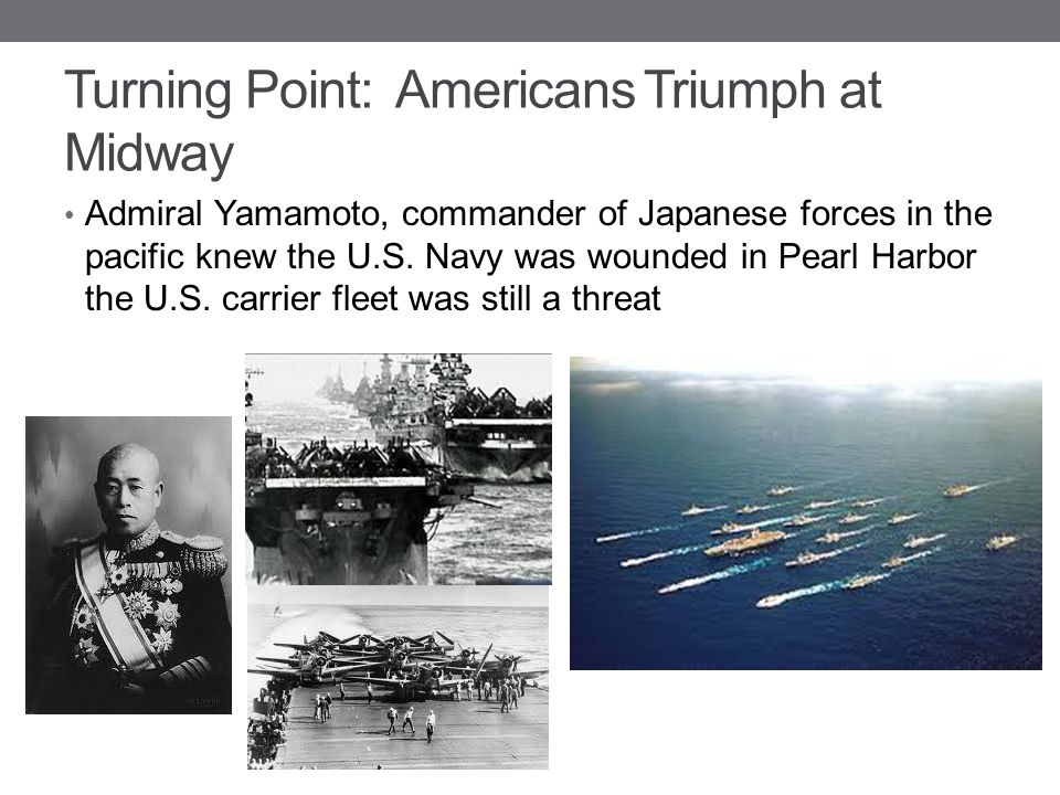 Turning Point: Americans Triumph at Midway