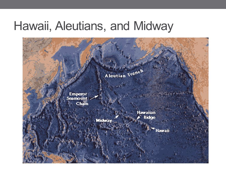 Hawaii, Aleutians, and Midway