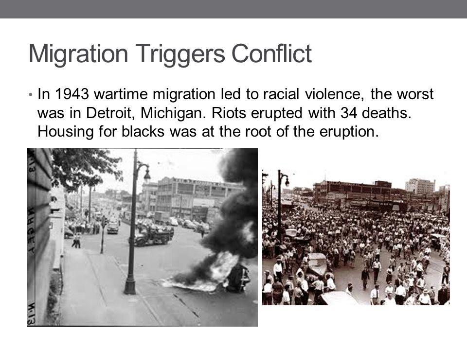 Migration Triggers Conflict