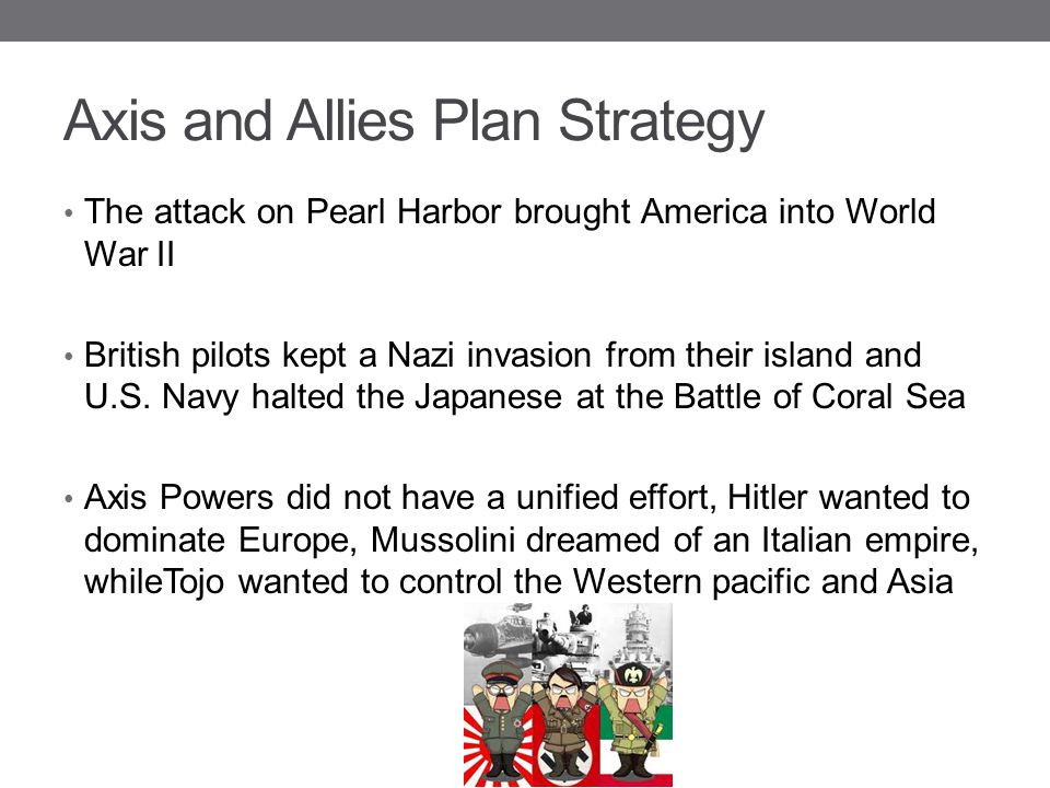 Axis and Allies Plan Strategy
