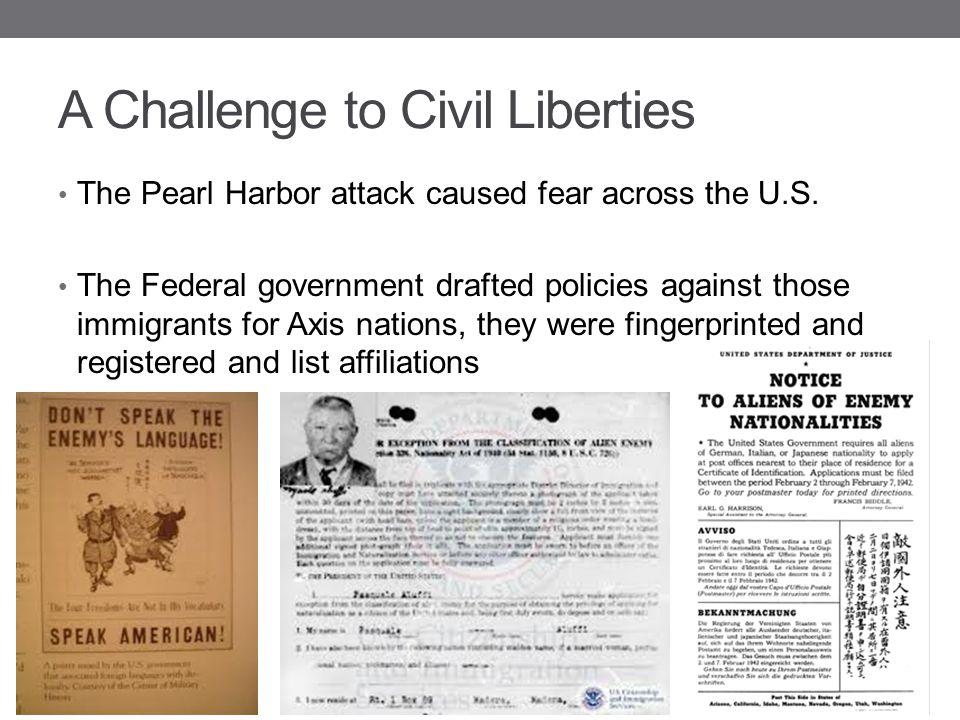 A Challenge to Civil Liberties