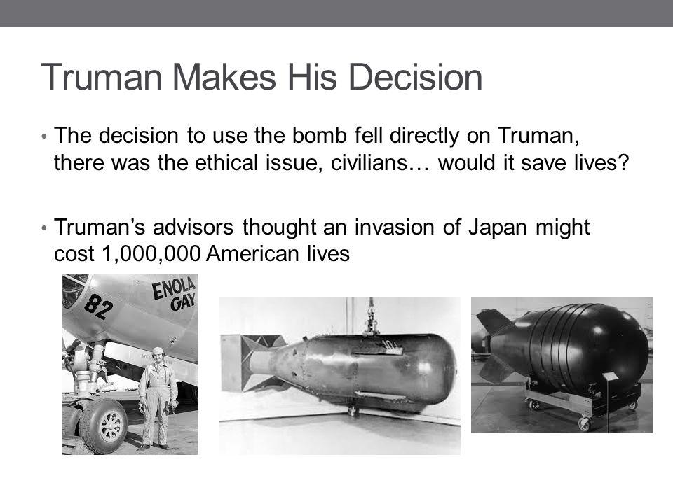 Truman Makes His Decision