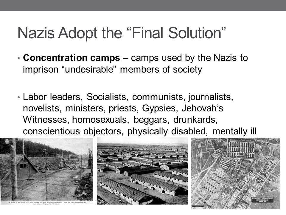 Nazis Adopt the Final Solution
