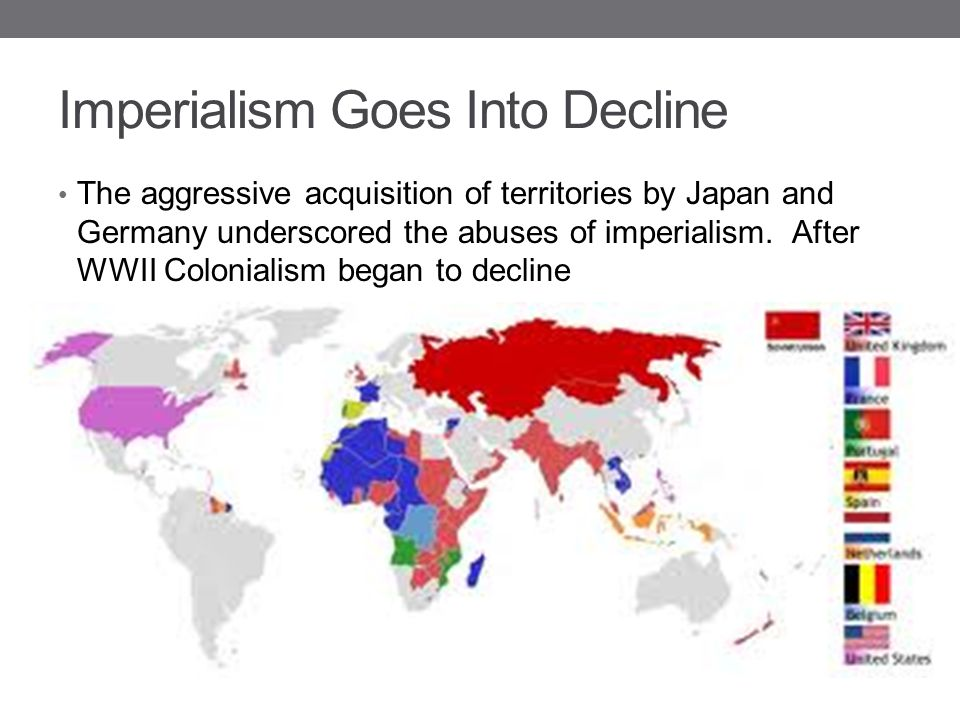 Imperialism Goes Into Decline