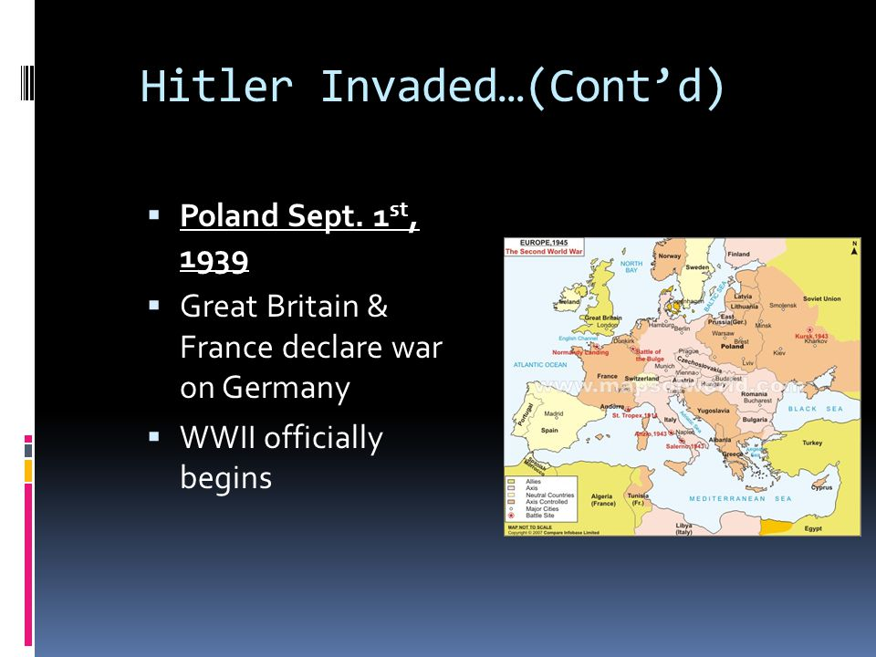 Hitler Invaded…(Cont'd)