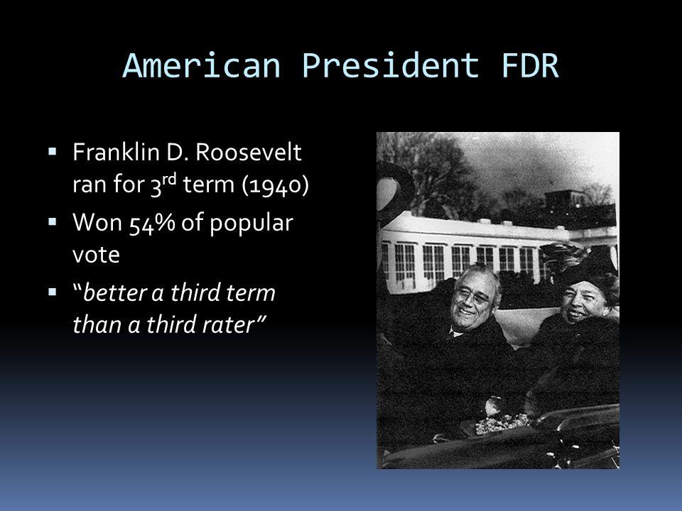 American President FDR