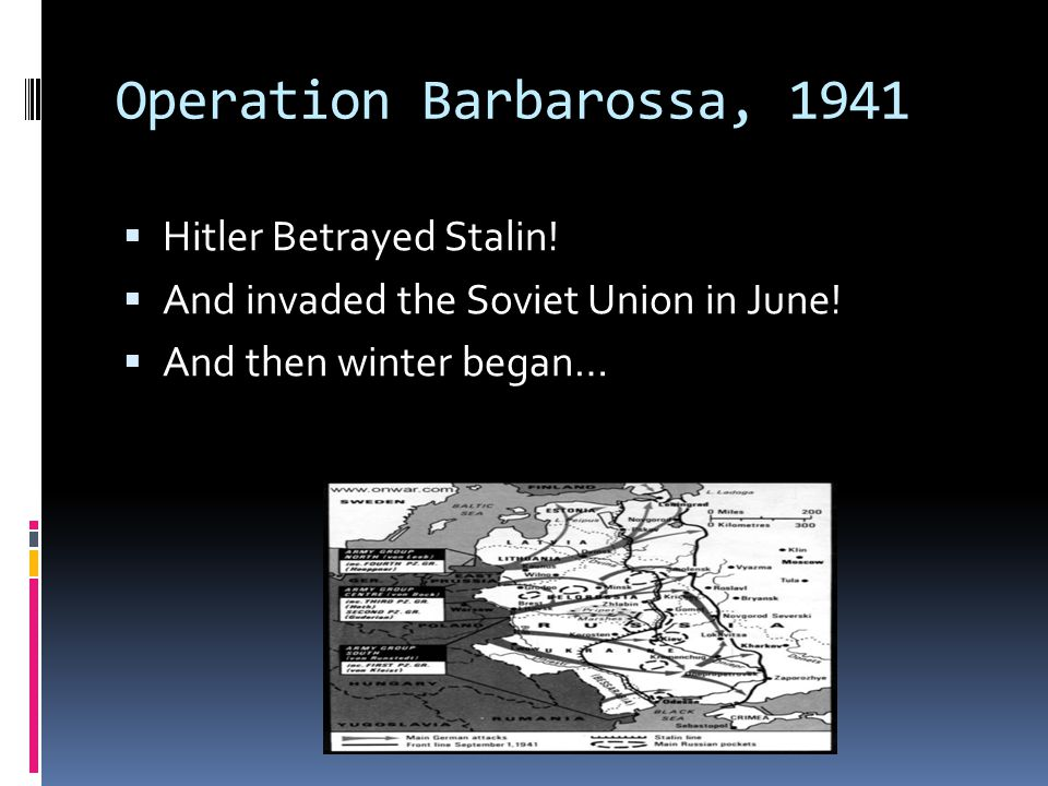Operation Barbarossa, 1941 Hitler Betrayed Stalin!