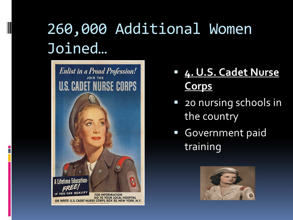 260,000 Additional Women Joined…