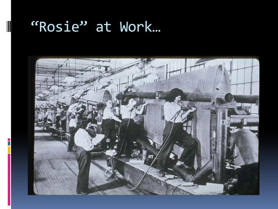Rosie at Work…