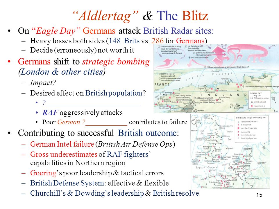 Aldlertag & The Blitz