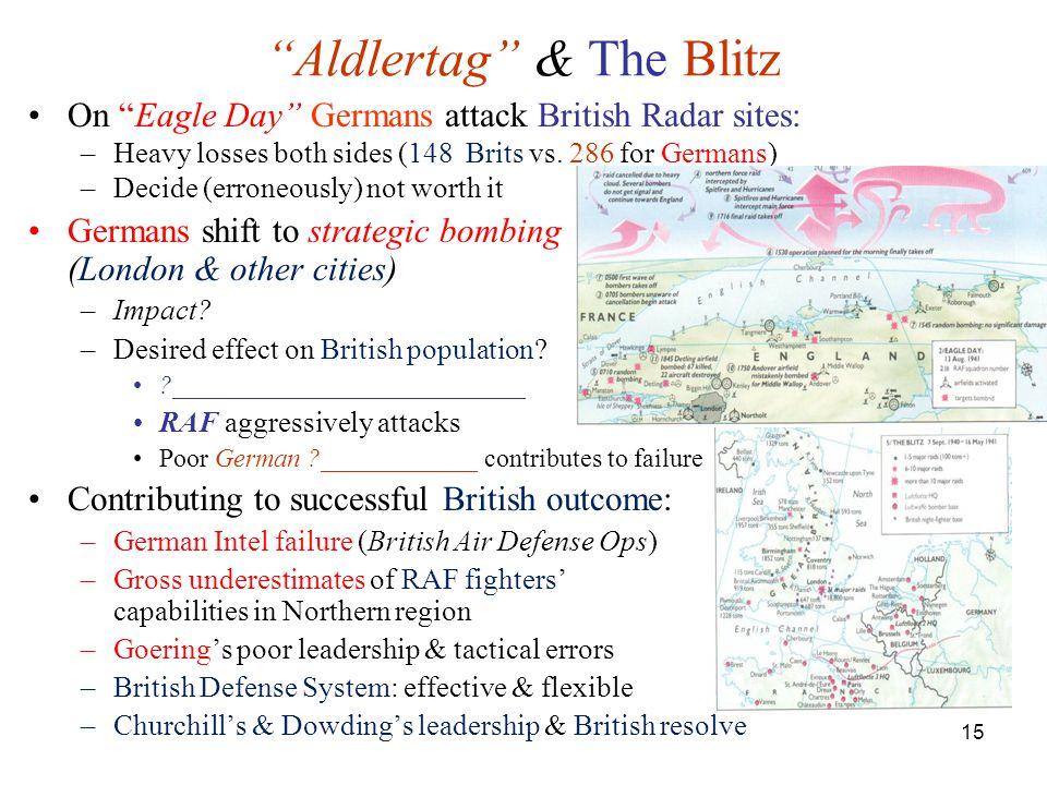 Aldlertag & The Blitz