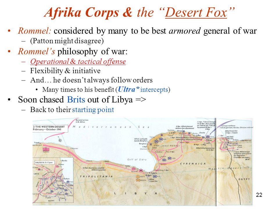 Afrika Corps & the Desert Fox