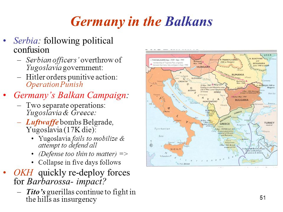 Germany in the Balkans Serbia: following political confusion