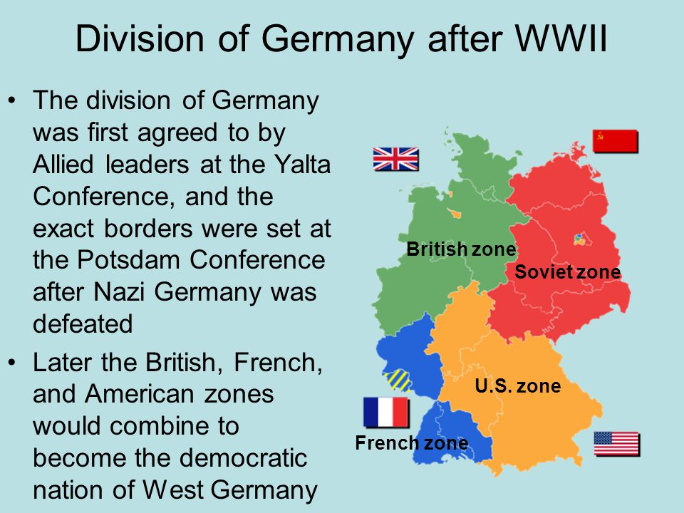 Division of Germany after WWII