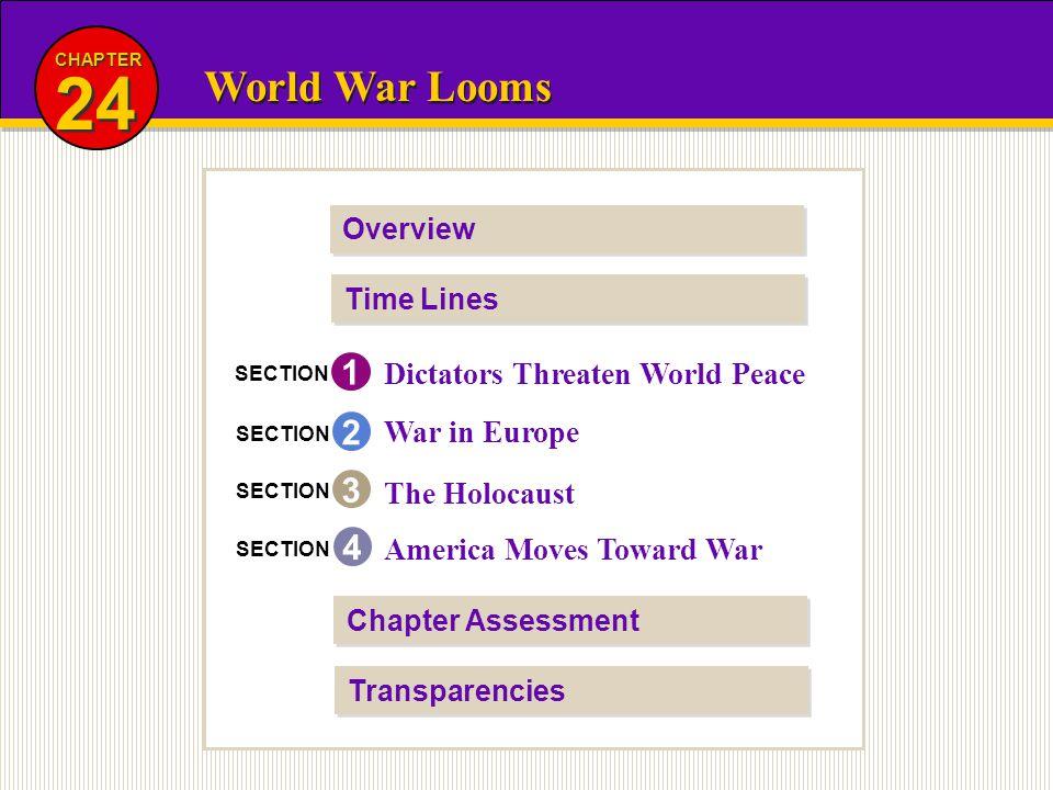 24 World War Looms 1 2 3 4 Dictators Threaten World Peace