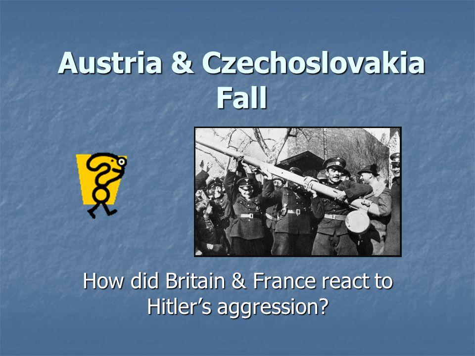 Austria & Czechoslovakia Fall