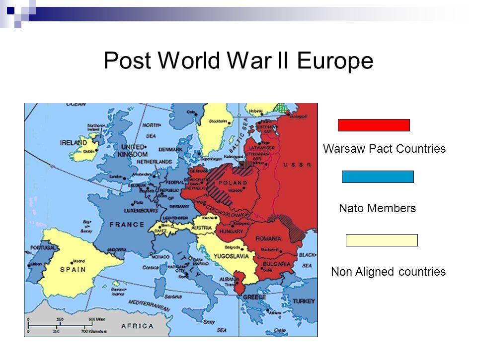 Post World War II Europe