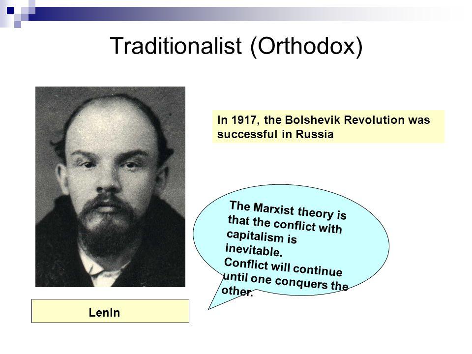 Traditionalist (Orthodox)