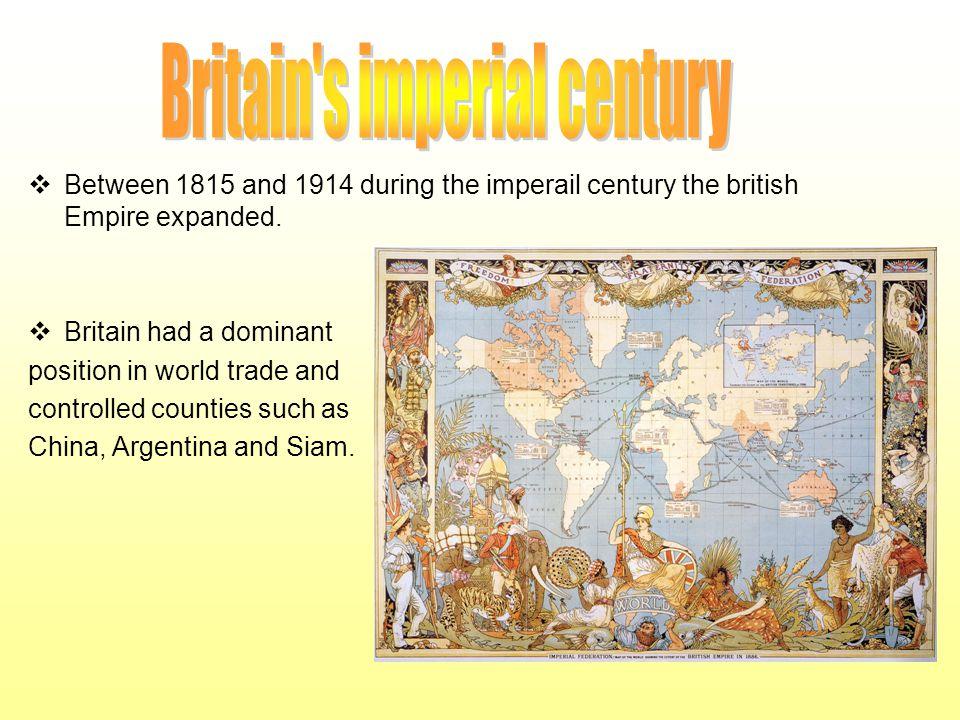 Britain s imperial century