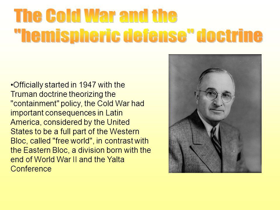 hemispheric defense doctrine