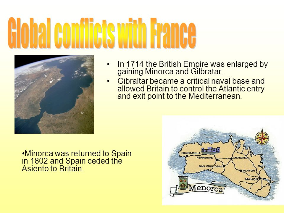 Global conflicts with France
