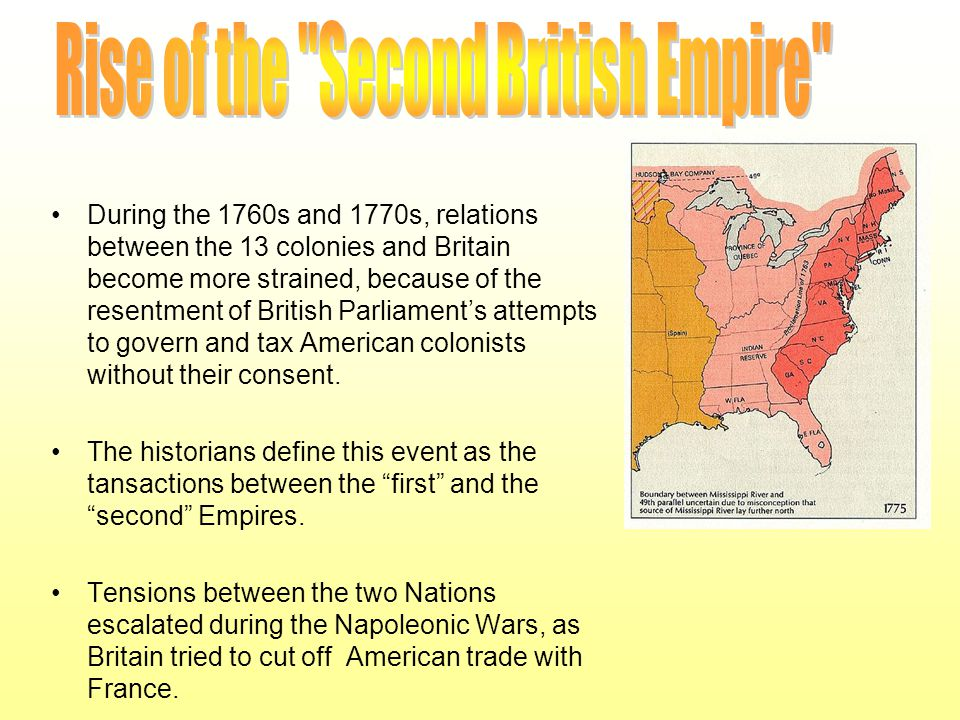 Rise of the Second British Empire