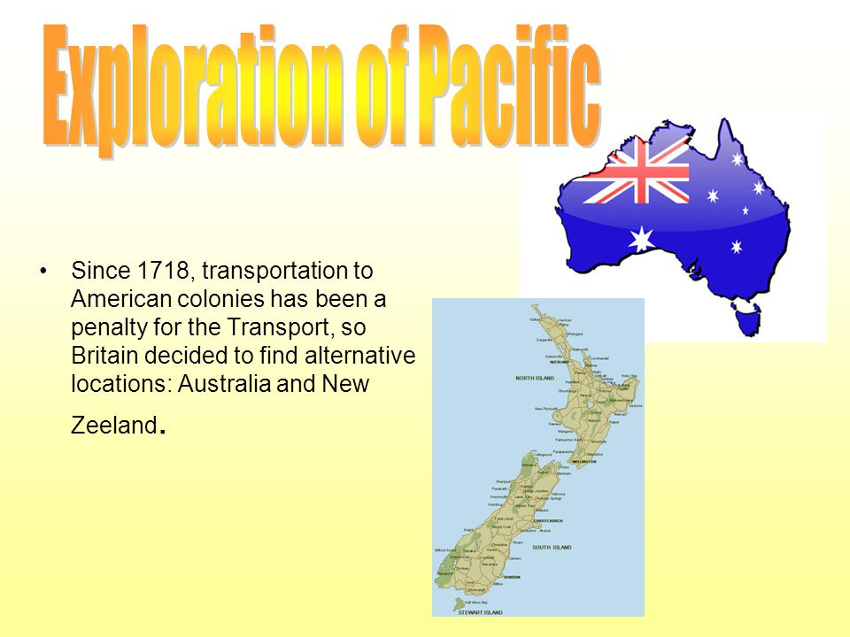 Exploration of Pacific