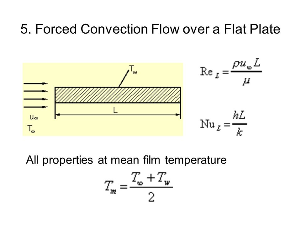 5. Forced Convection Flow over a Flat Plate