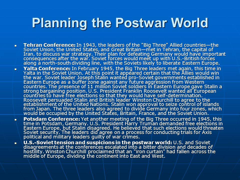 Planning the Postwar World