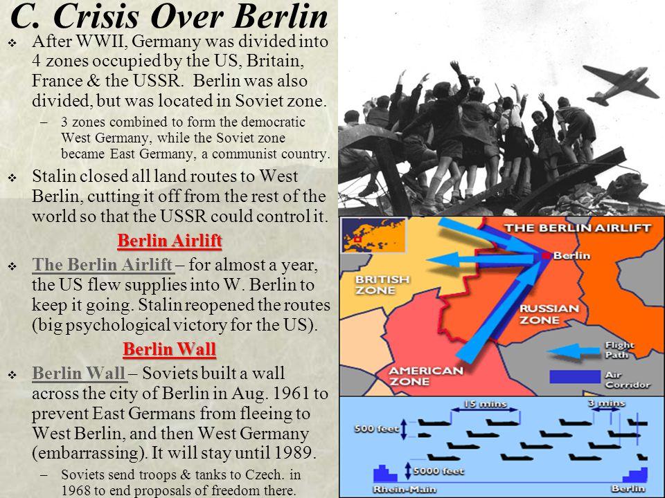 C. Crisis Over Berlin