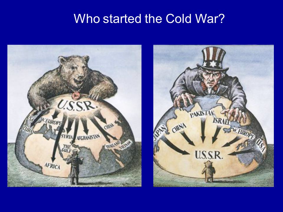 Who started the Cold War