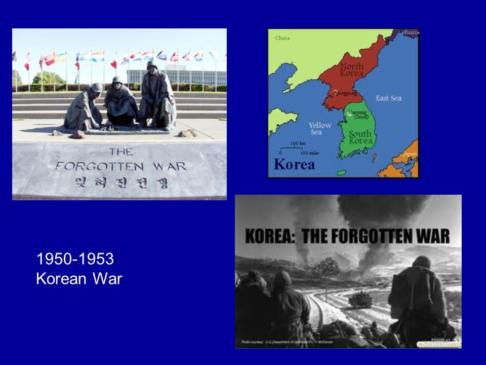 1950-1953 Korean War